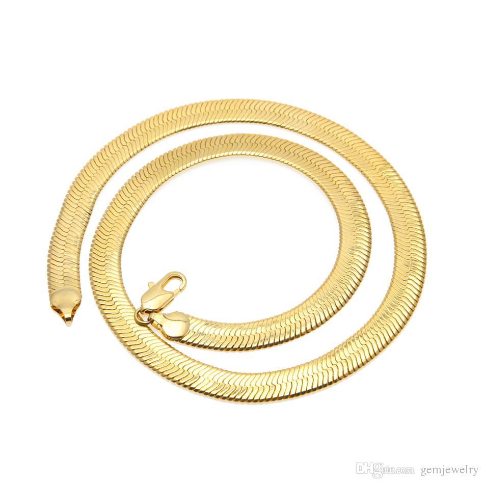زنجیر تیغ ماهی (Herringbone Chain)