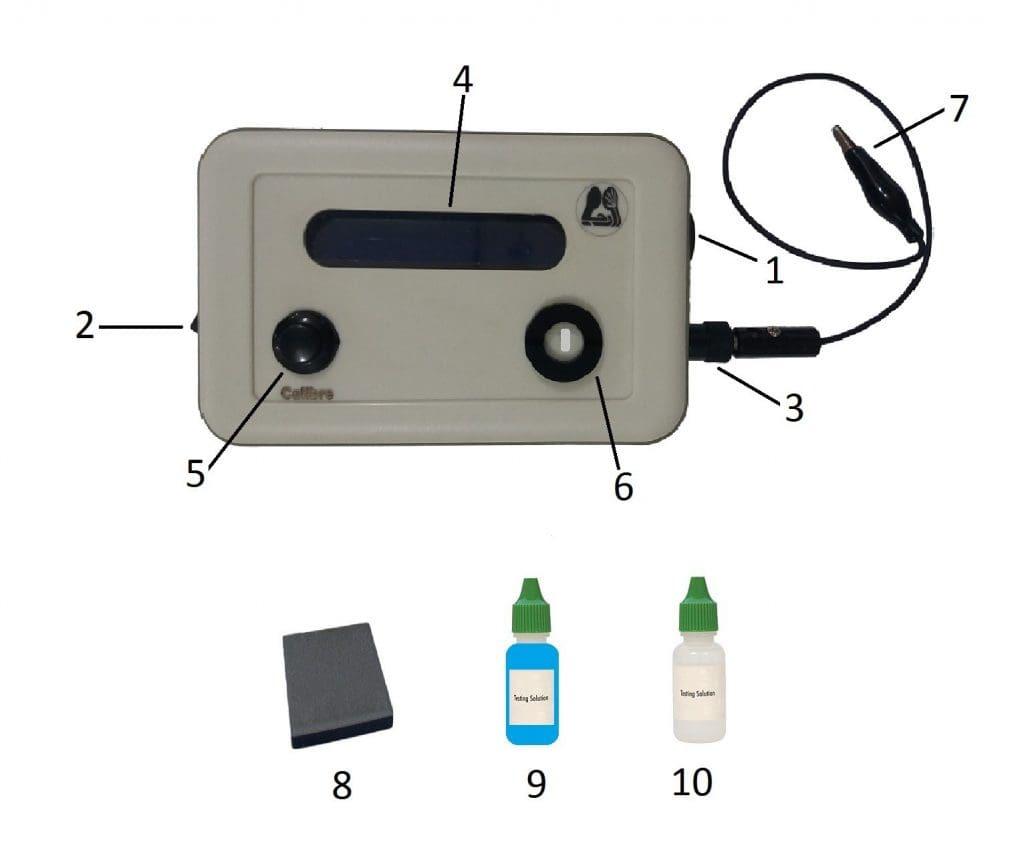 دستگاه تشخیص و عیار سنج طلا
