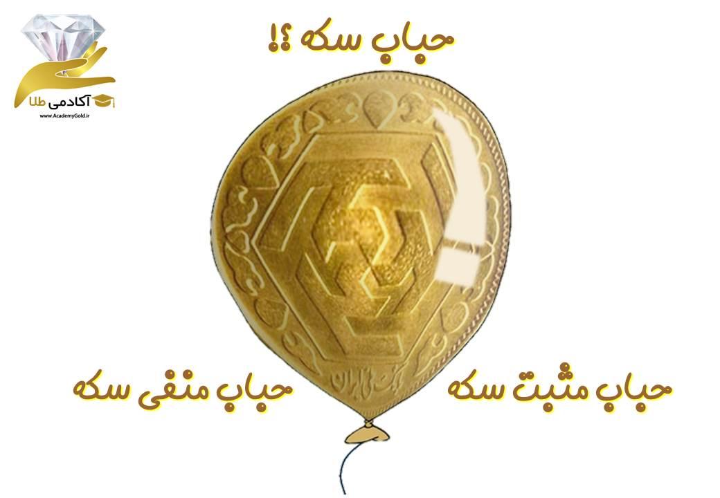 حباب سکه ... حباب مثبت سکه یا حباب منفی سکه