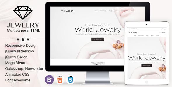 خدمات طراحی سایت طلا و جواهر