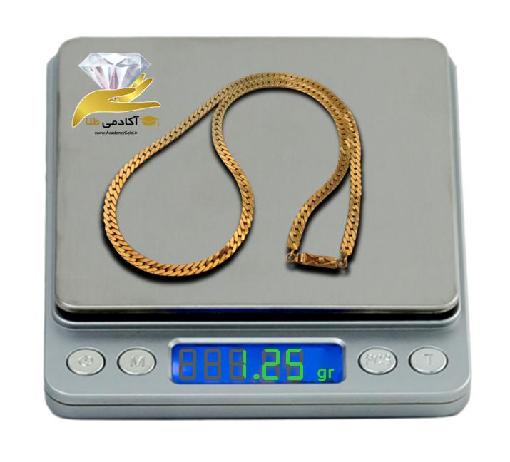 نحوه نوشتن و خواندن وزن از روی ترازوی طلا فروشی