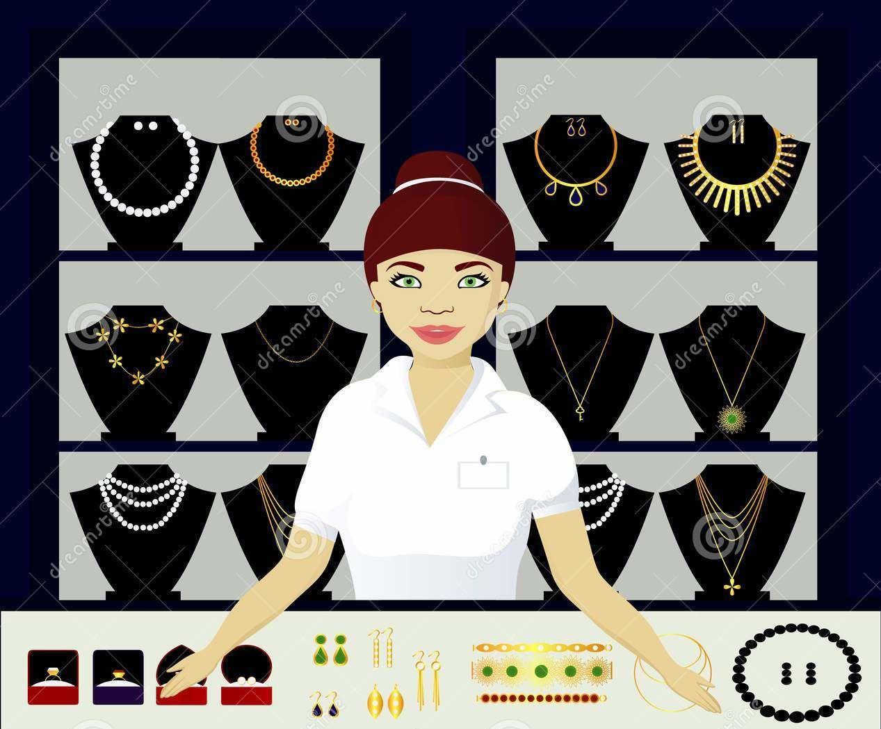 فروشنده طلا و جواهر